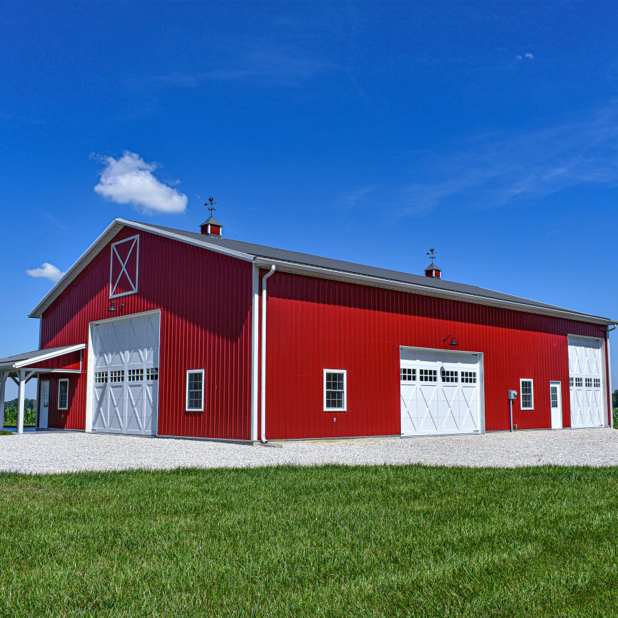 metal roofing and siding supplies for pole barn