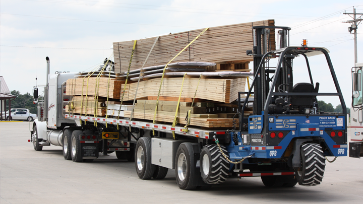 building material supply delivery