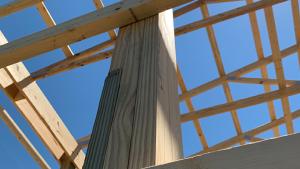 pole barn laminated column
