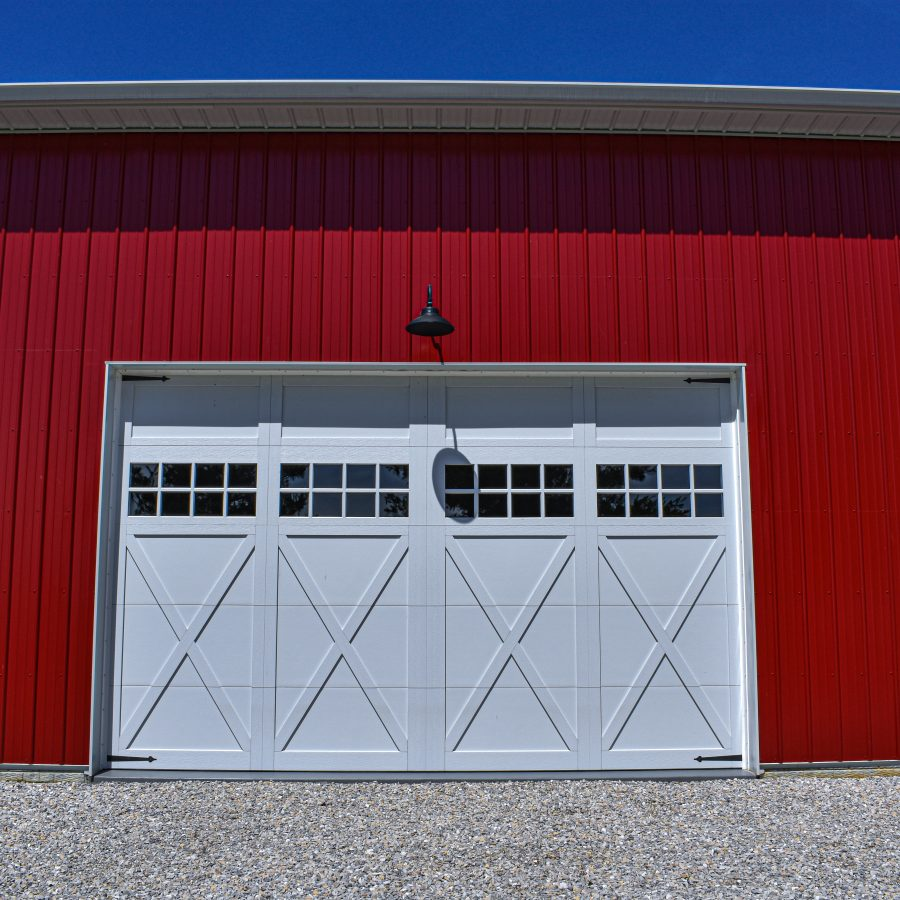 red metal siding installation in indiana