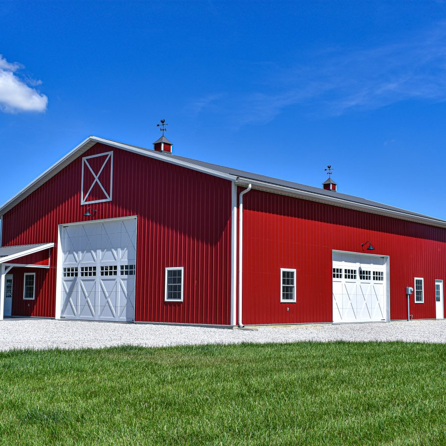 metal roofing for pole barns