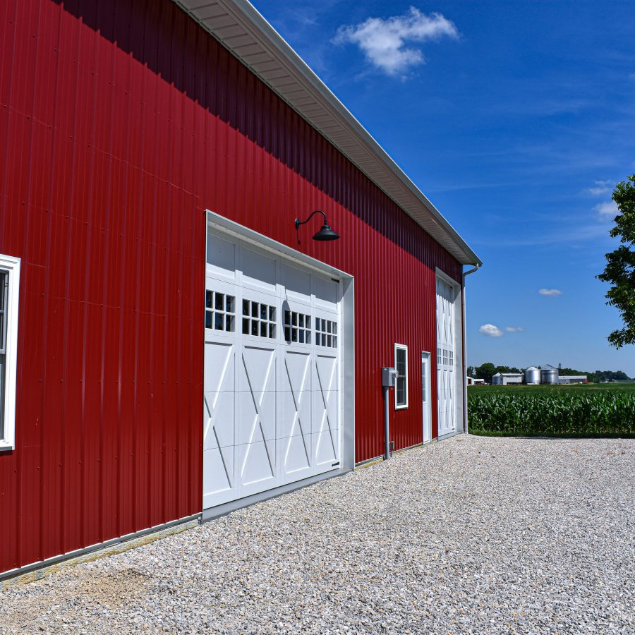 pole barn siding options