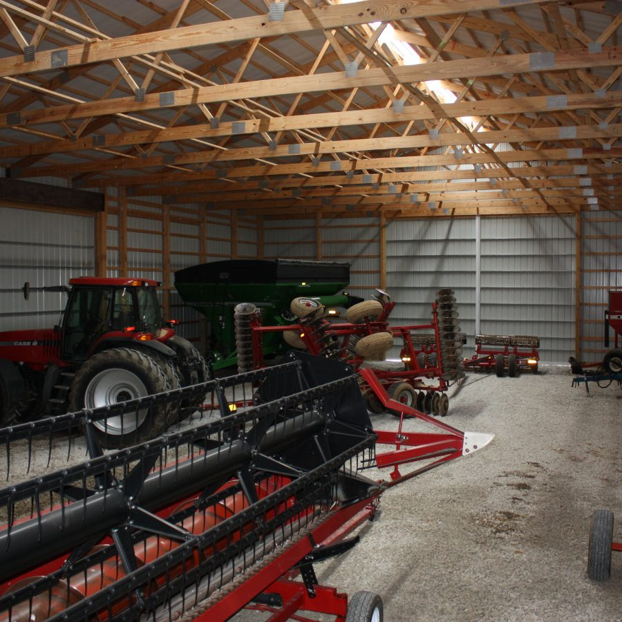 new agricultural post frame construction