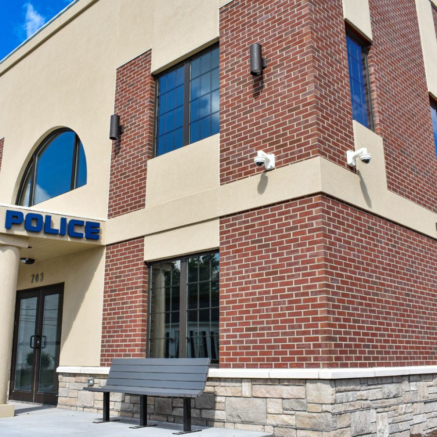 police headquarters built by graber post building