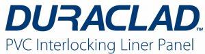 Duraclad interlocking panel logo