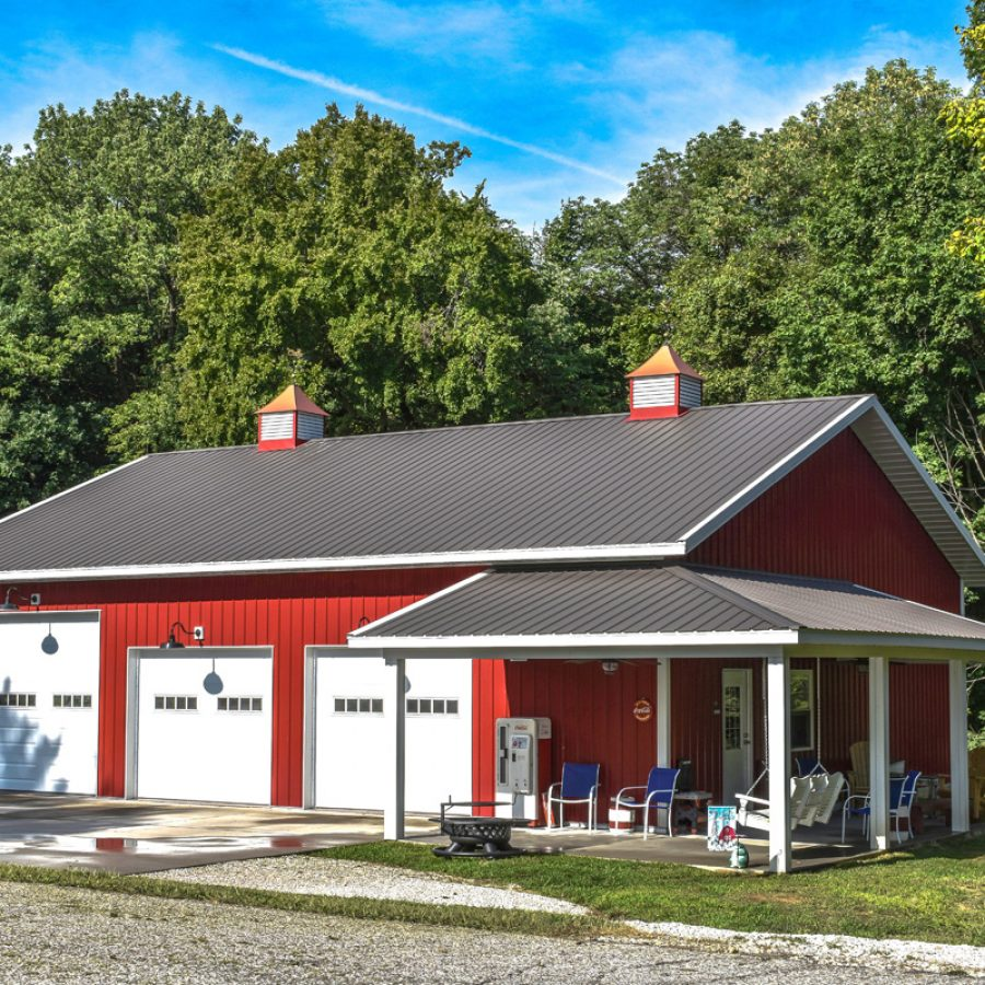 red siding supplies