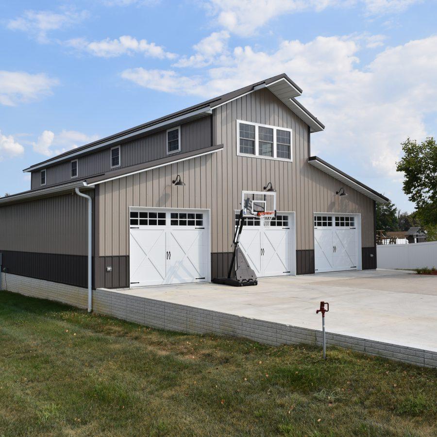 detached garage builders