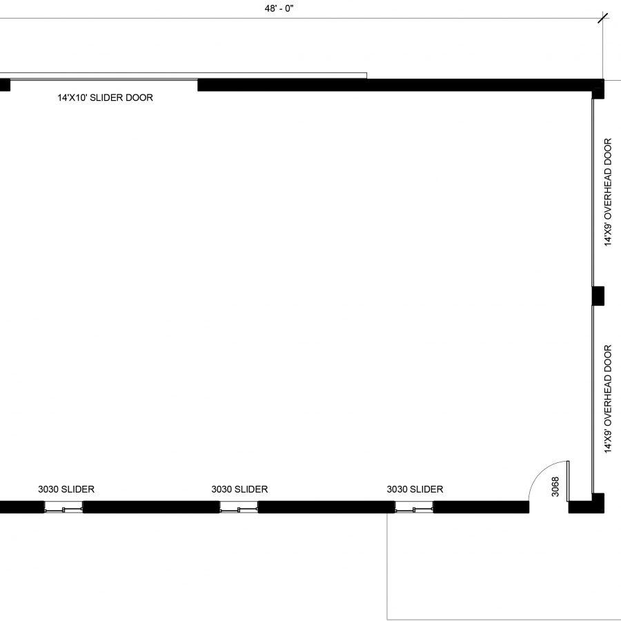 new post frame floor plan