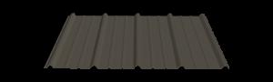 g-rib dark gray metal panel