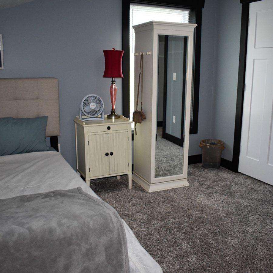 upstairs bedroom remodel