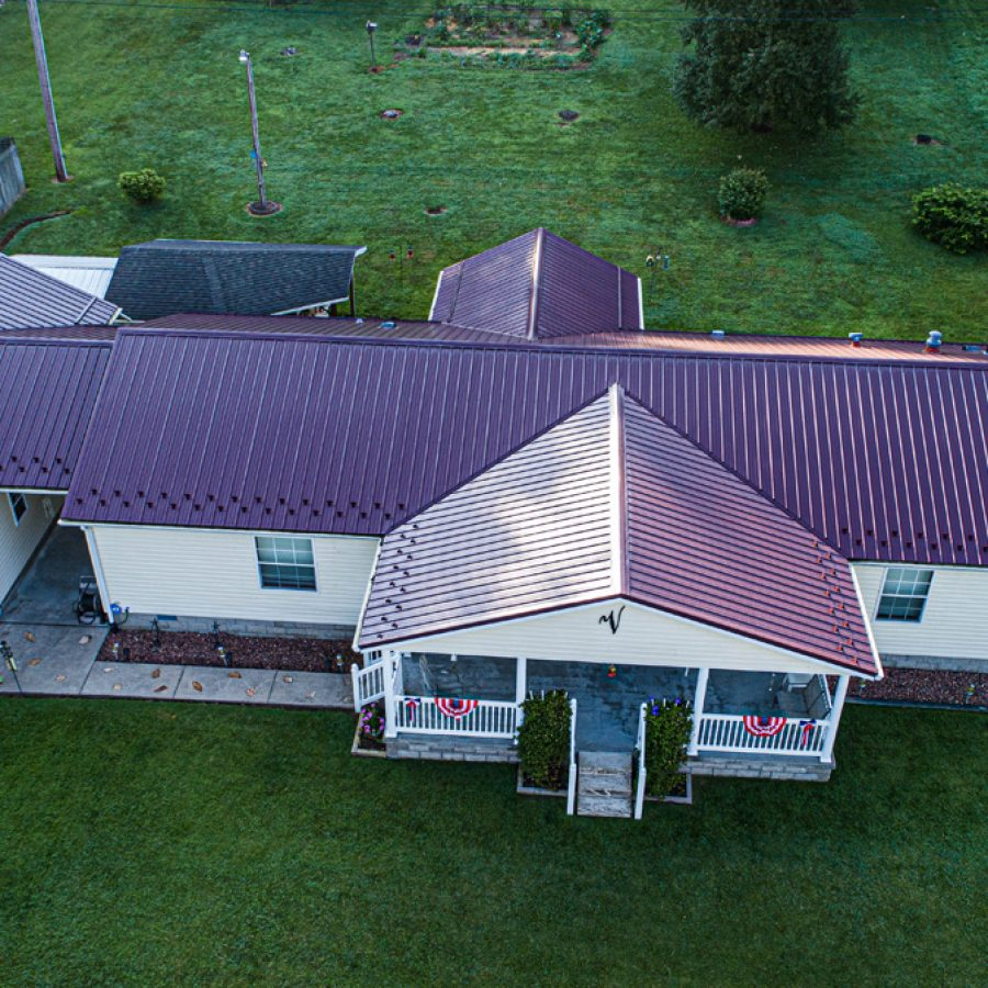 residential metal roofers in indiana