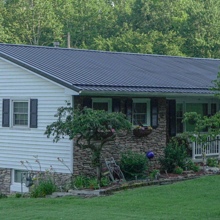 residential metal roofing materials