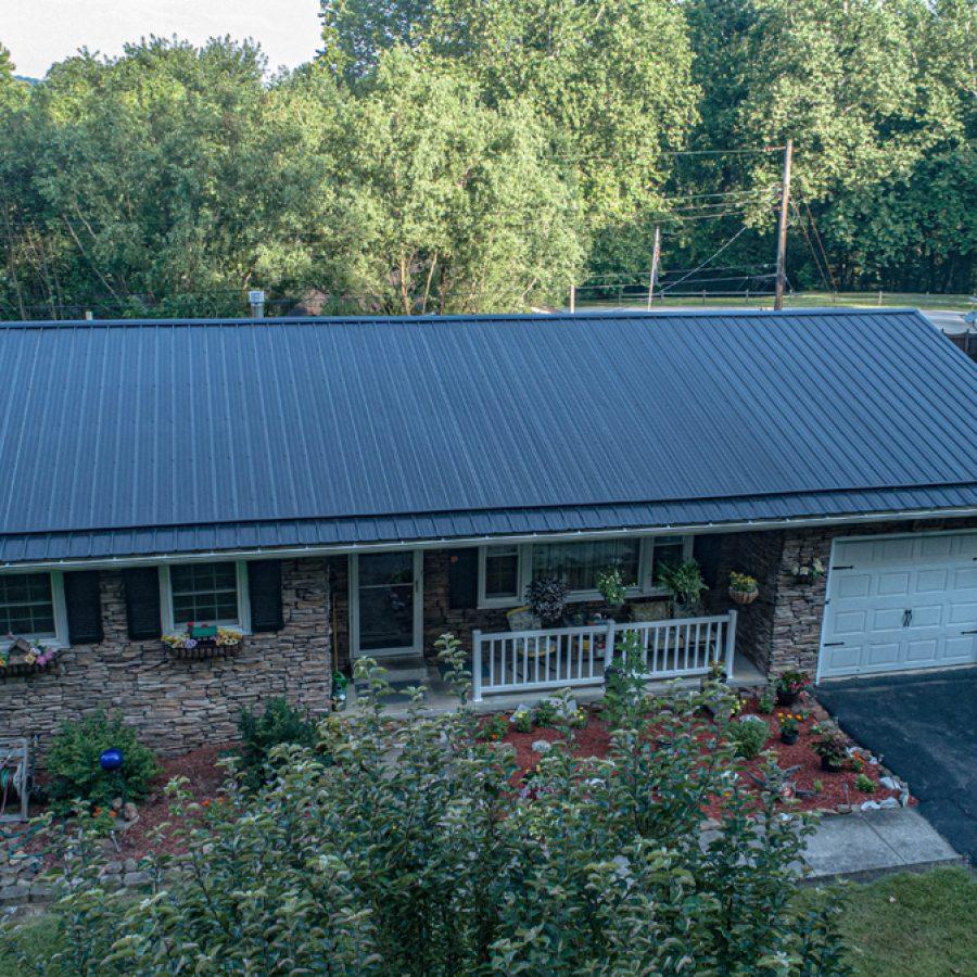 snap lock metal roof supplies