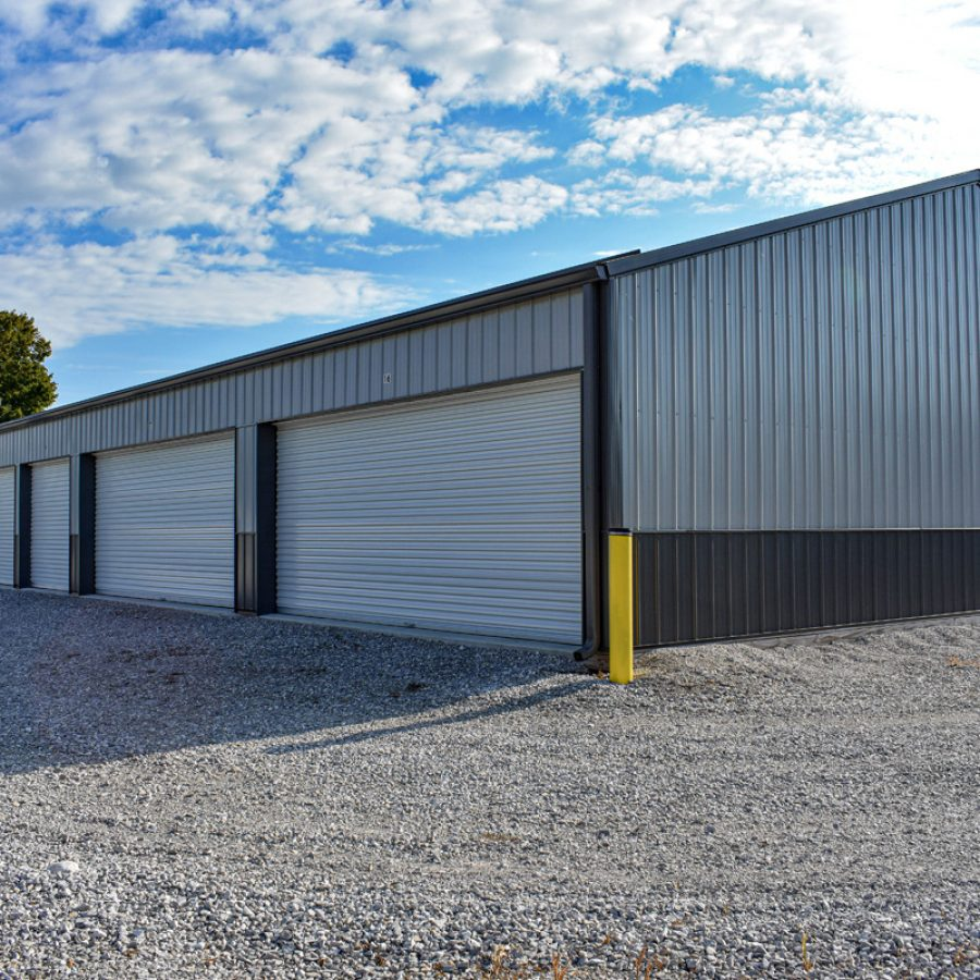 large commercial warehouse building