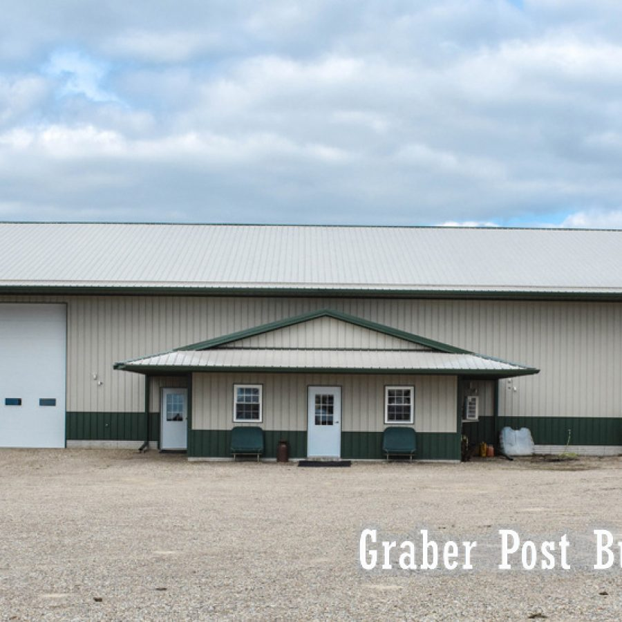 large post frame building by graber post buildings